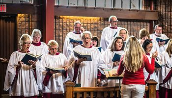 Choir & Music - The Christ Church choir is an essential component of our Sunday morning worship. More about Christ Church's Music and Choir program.