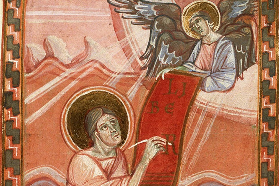 The Evangelist St. Matthew with his Symbol, the Angel