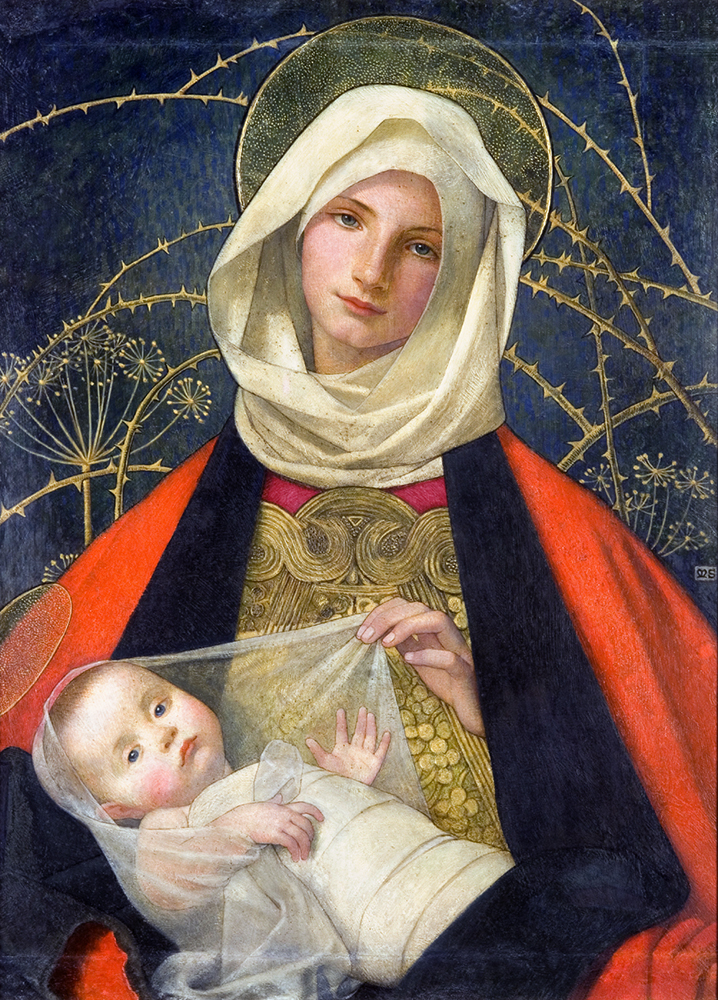 Credit: Marianne Stokes, Madonna & Child
