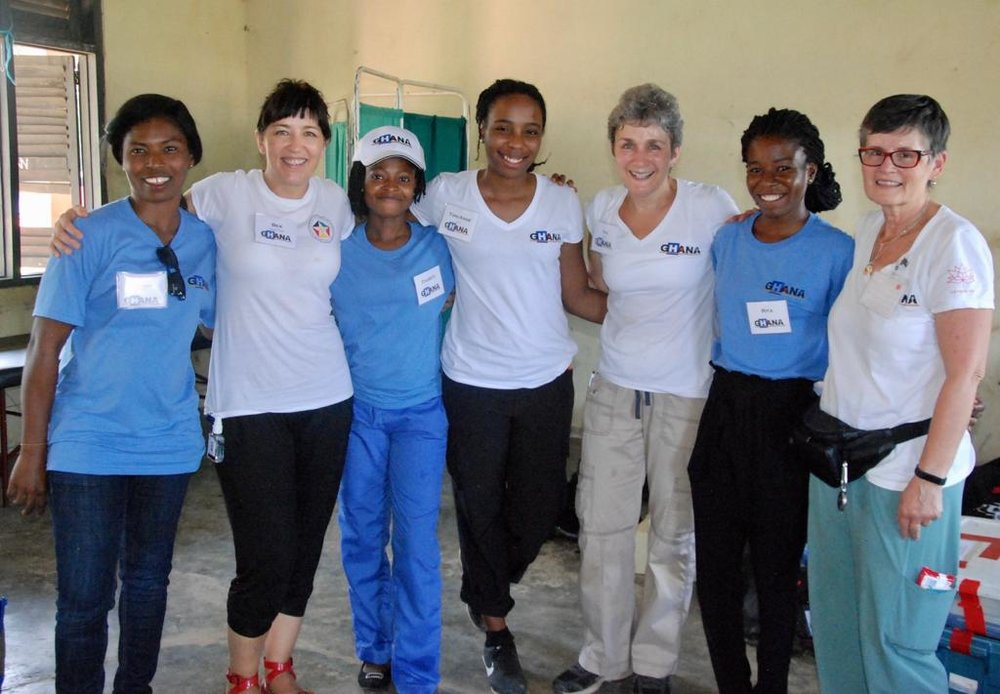 More than friends: our Ghanaian, British, and Canadian nurses