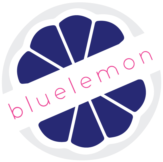 blue lemon web design