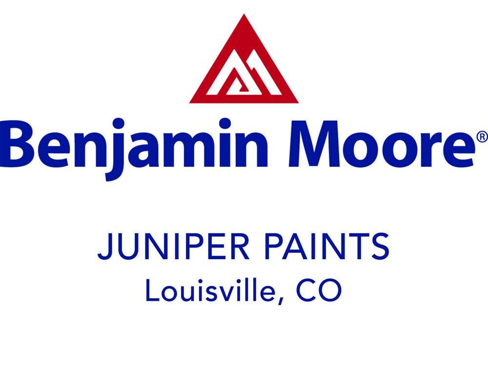 Juniper Paints Benjamin Moore Dealer Louisville Co