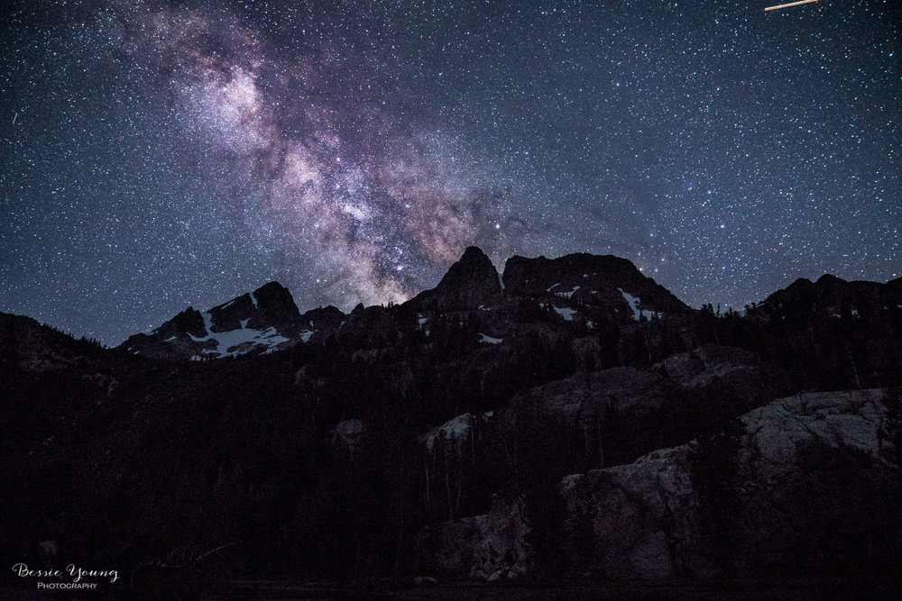 A Night under the Milky Way by Bessie Young