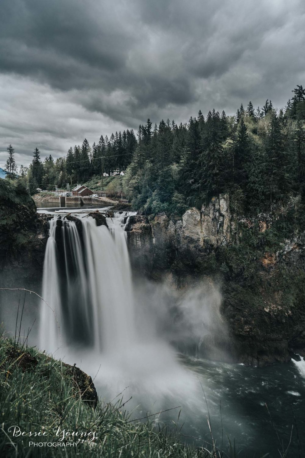 Snoqualmie Falls Washington by Bessie Young 4.jpg