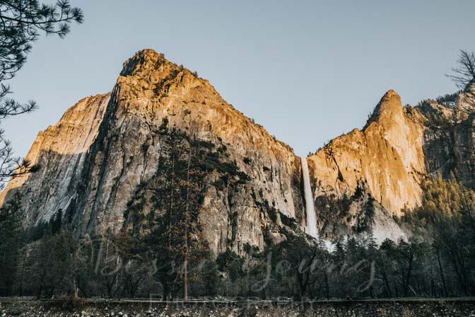 Yosemite National Park Sunset at El Capitan Landscape Photography By Bessie Young Photography - Behind the scenes