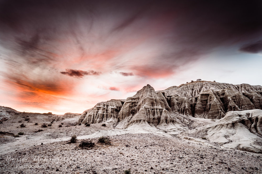 Desert Landscape Photography - Red Rock Canyon State Park by Bessie Young Photography