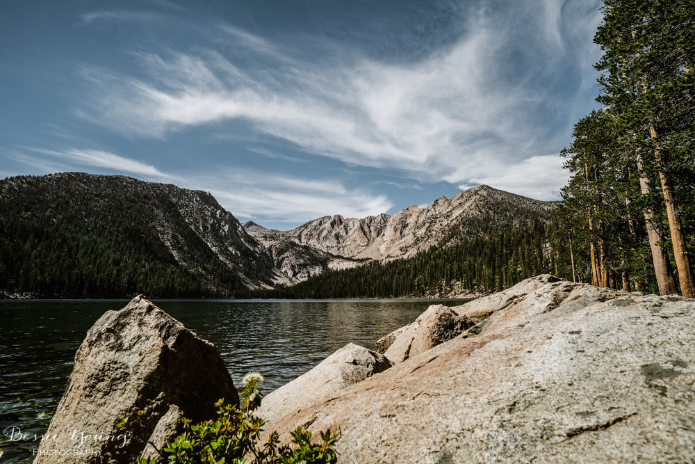 Backpacking Devils Bathtub Graveyard Trailhead - Landscape Photography by Bessie Young Photography - California Hiking Trail