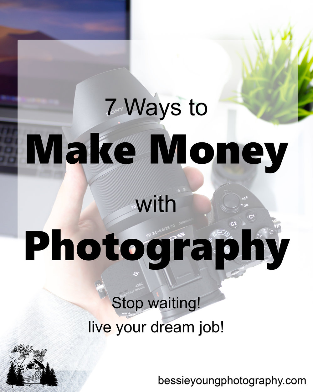 7 Ways to Make Money with Photography you can live your dream job by Bessie Young Photography.jpg