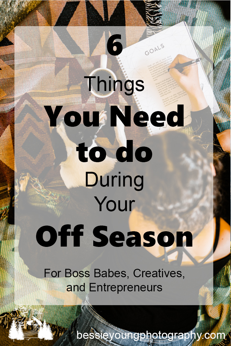 Things You Need to Do During Your Off Season by Bessie Young Photography