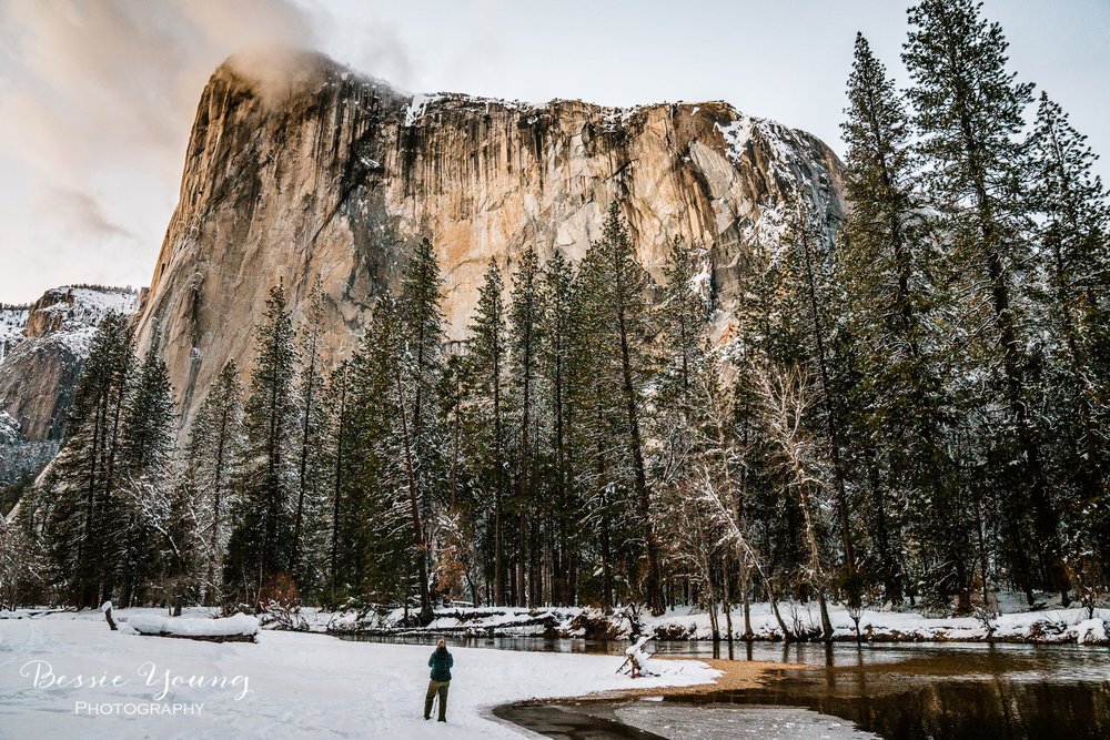 Yosemite National Park Fire falls Attempt 1 -