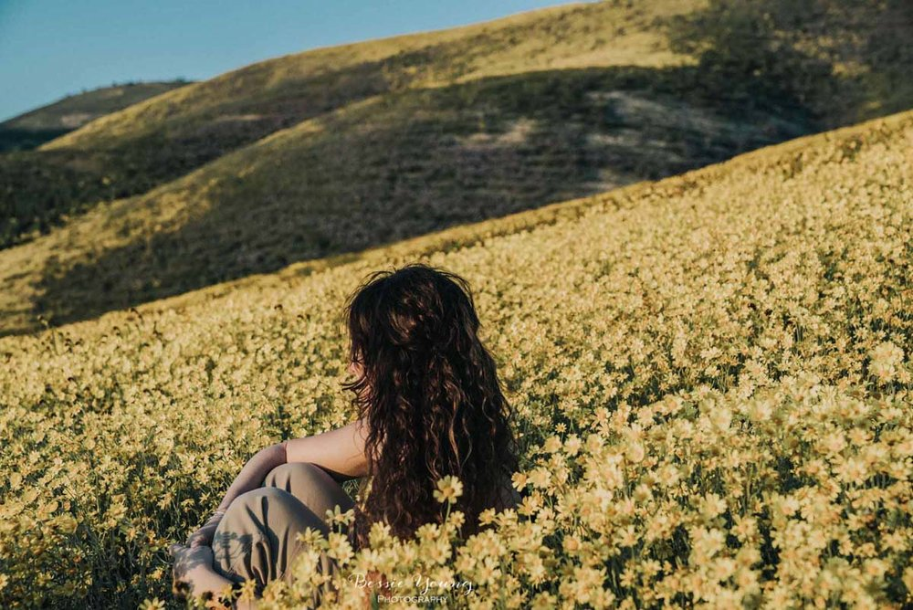 Carrizo Plain National Monument Super Bloom by Bessie Young Photography