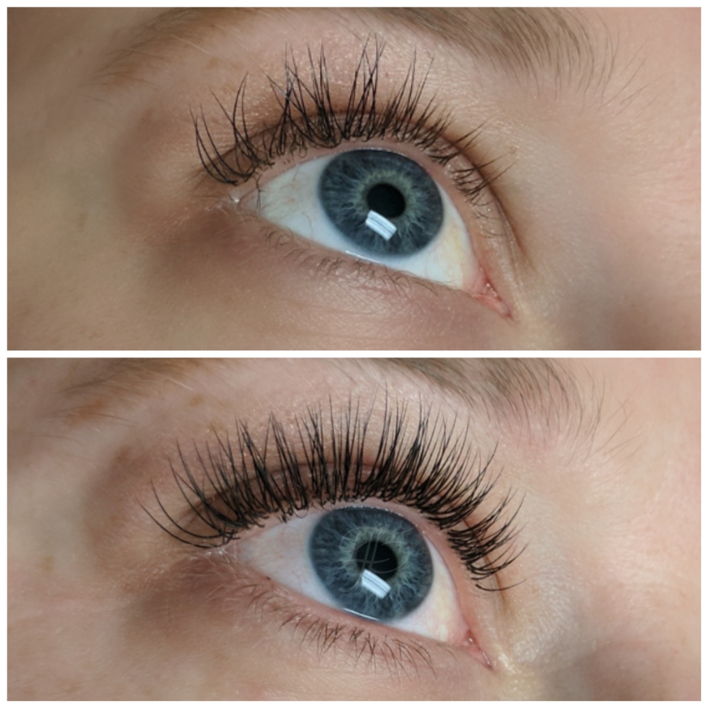 before:  lash extensions by another artist   after:  Classic Max Fill by The Studio