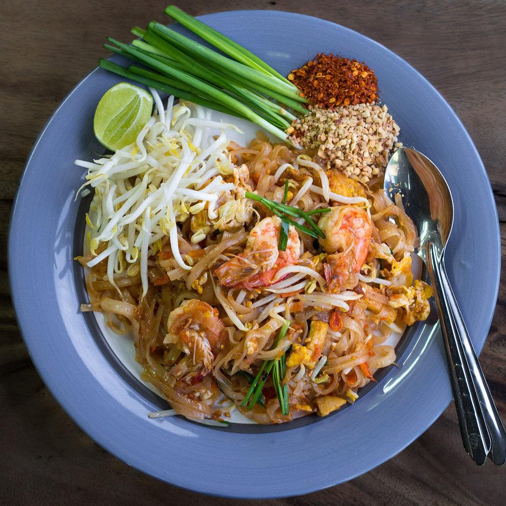 (BTW, I love Thai food)