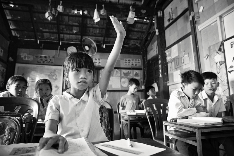 VDP school student in Prek Pneu.