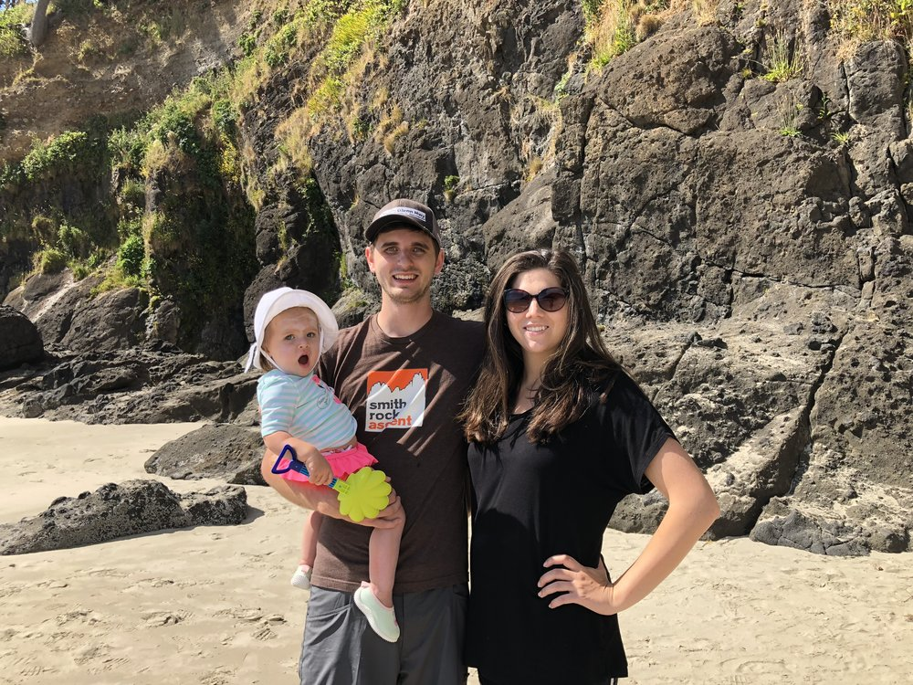 A short trip to the Oregon coast to see our son and his family.  We celebrated Everly's 1st birthday in May.  Grandbaby number four is due to arrive at Christmas!