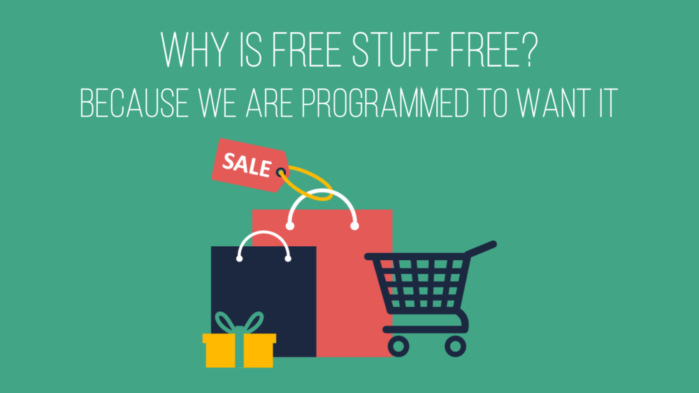 Why is free stuff free?