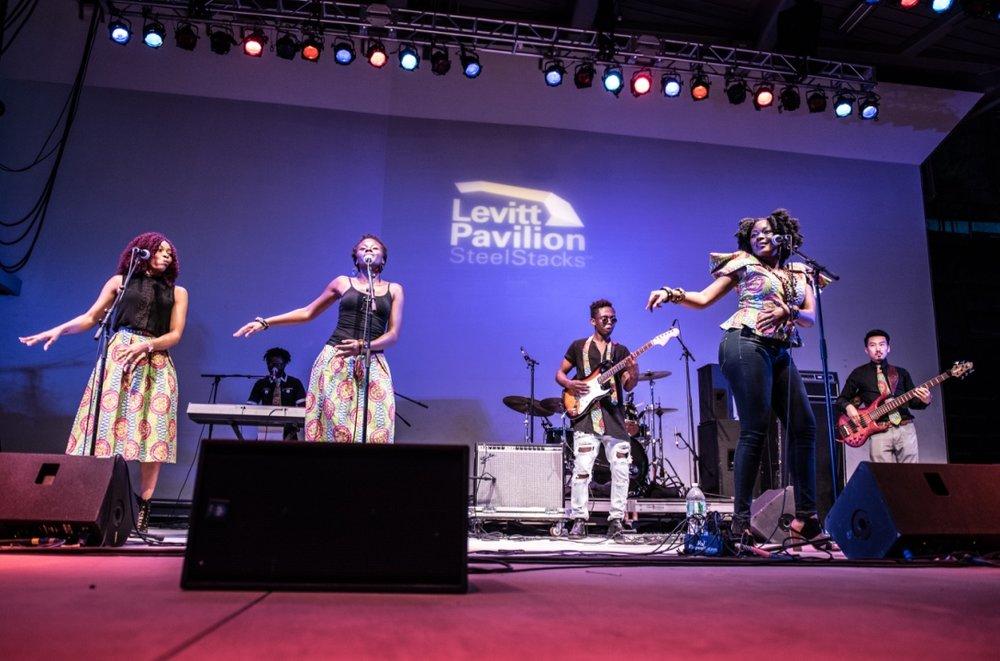 Rafiya at Levitt Pavilion