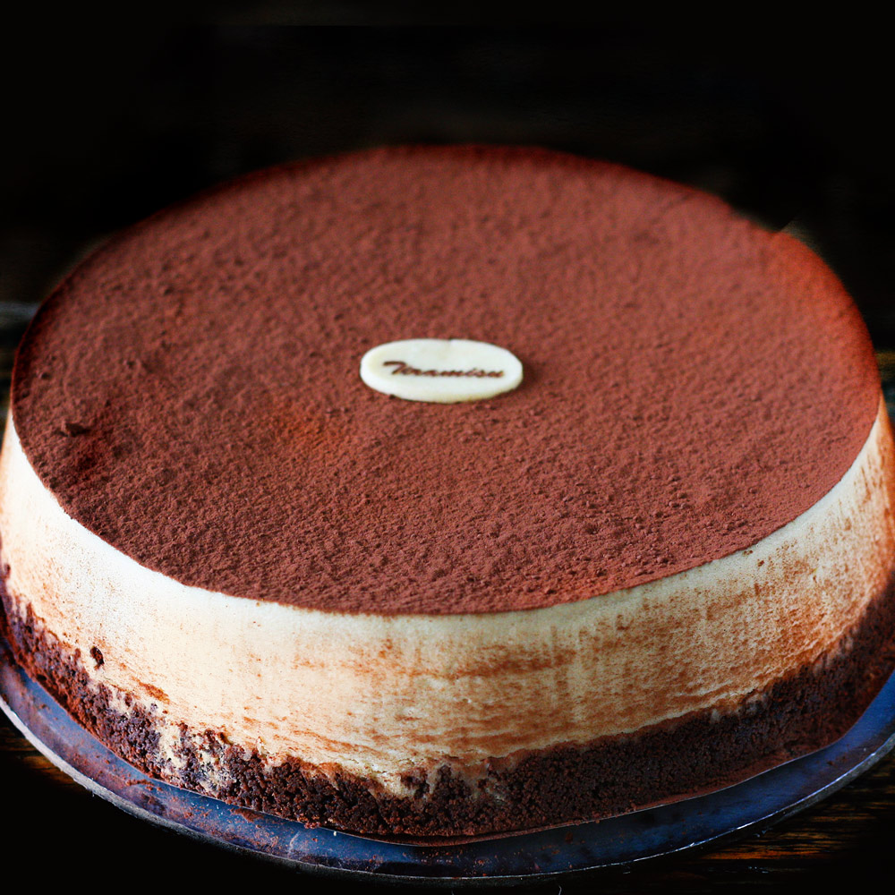 Tiramisu New York Baked Cheesecake -  Whole: $26.90 / Half: $15.00