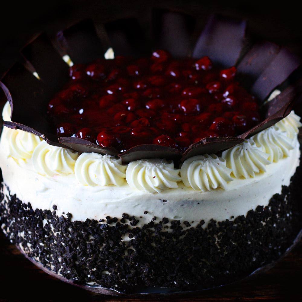 Black Forest Cake - Whole: $25.90 / Half: $14.50