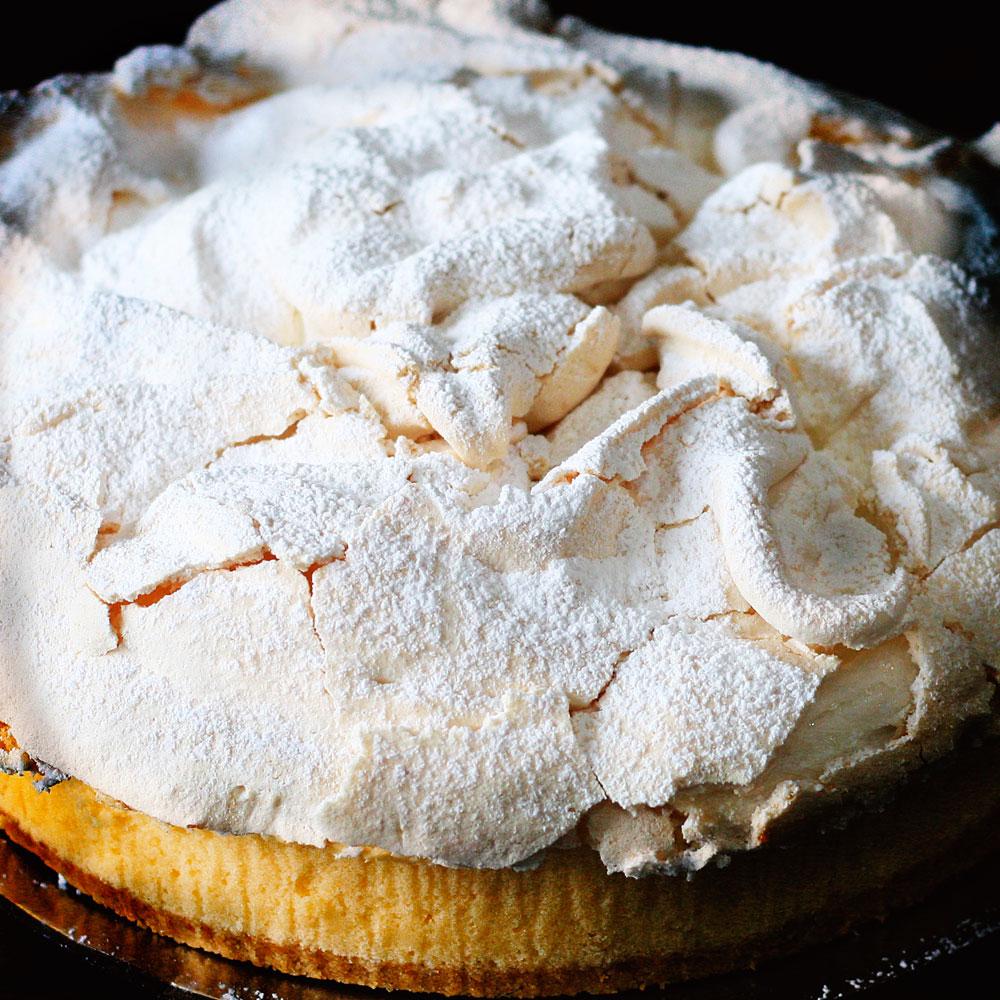 Lemon Meringue Pie - Whole: $23.90 / Half: $13.50