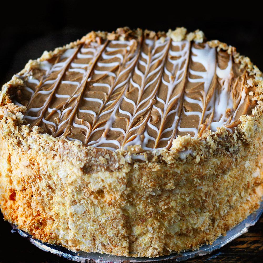 Caramel Dream Cake  - Whole: $25.90 / Half: $14.50