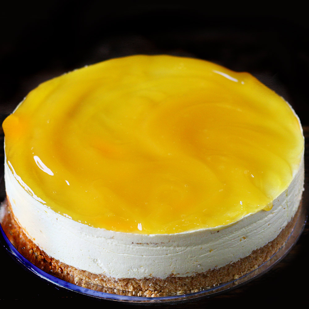 Lemon Chilled Cheesecake -  Whole: $24.90 / Half: $14.00