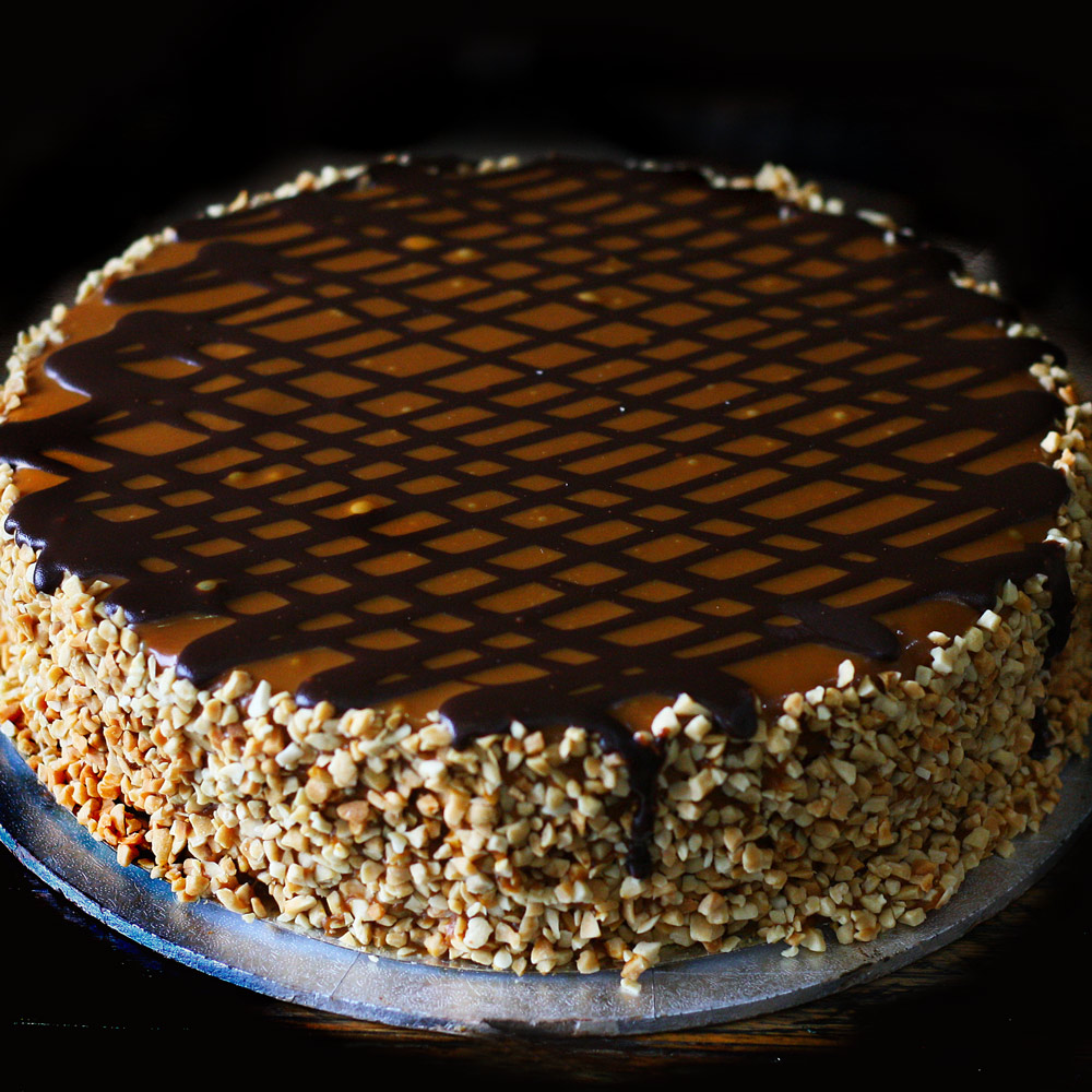 Caramel Mud Cake - Whole: $25.90 / Half: $14.50