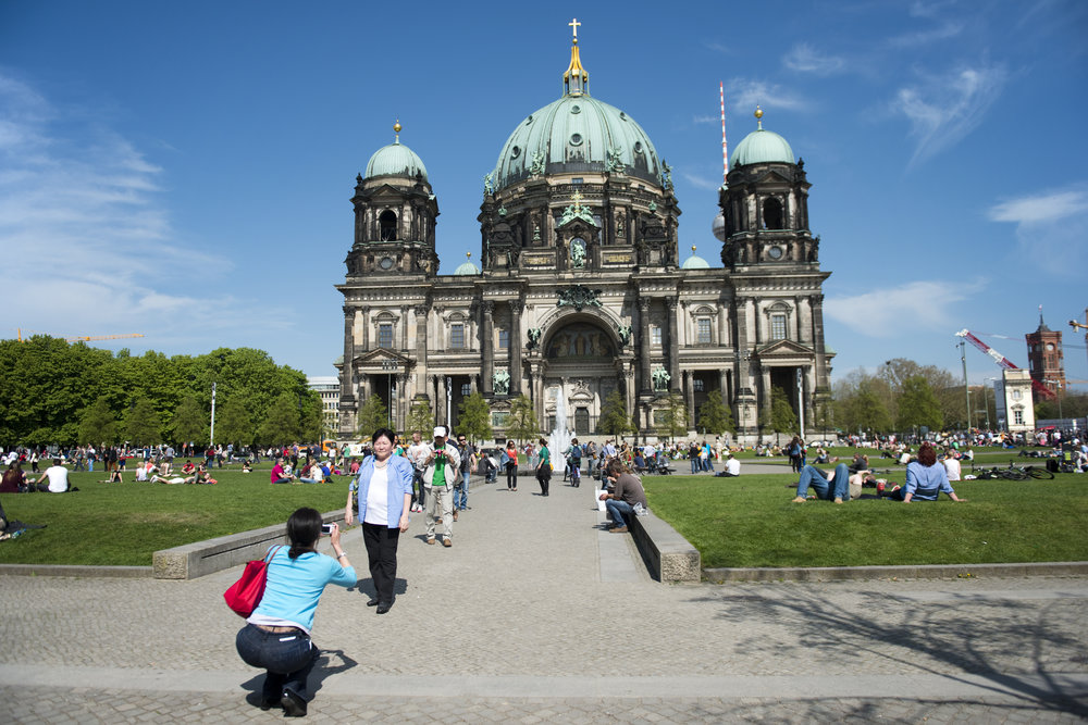 Berliner Dom,  the Berlin Cathedral.