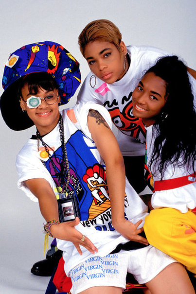 If  TLC  didn't know fashion I don't know who did.