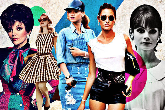 History repeating itself. See  this article for a few fashion trends currently being revived.