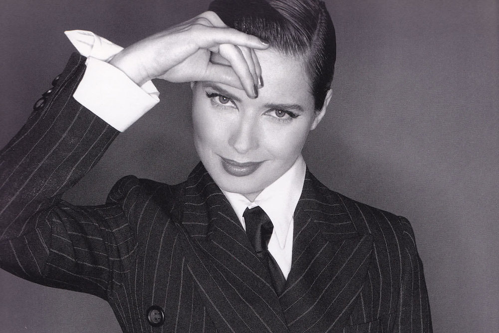 "I don't usually ""cast"" the novels I read with movie actors, but this image of Isabella Rossellini is definitely how I picture Genevieve Lefoux."