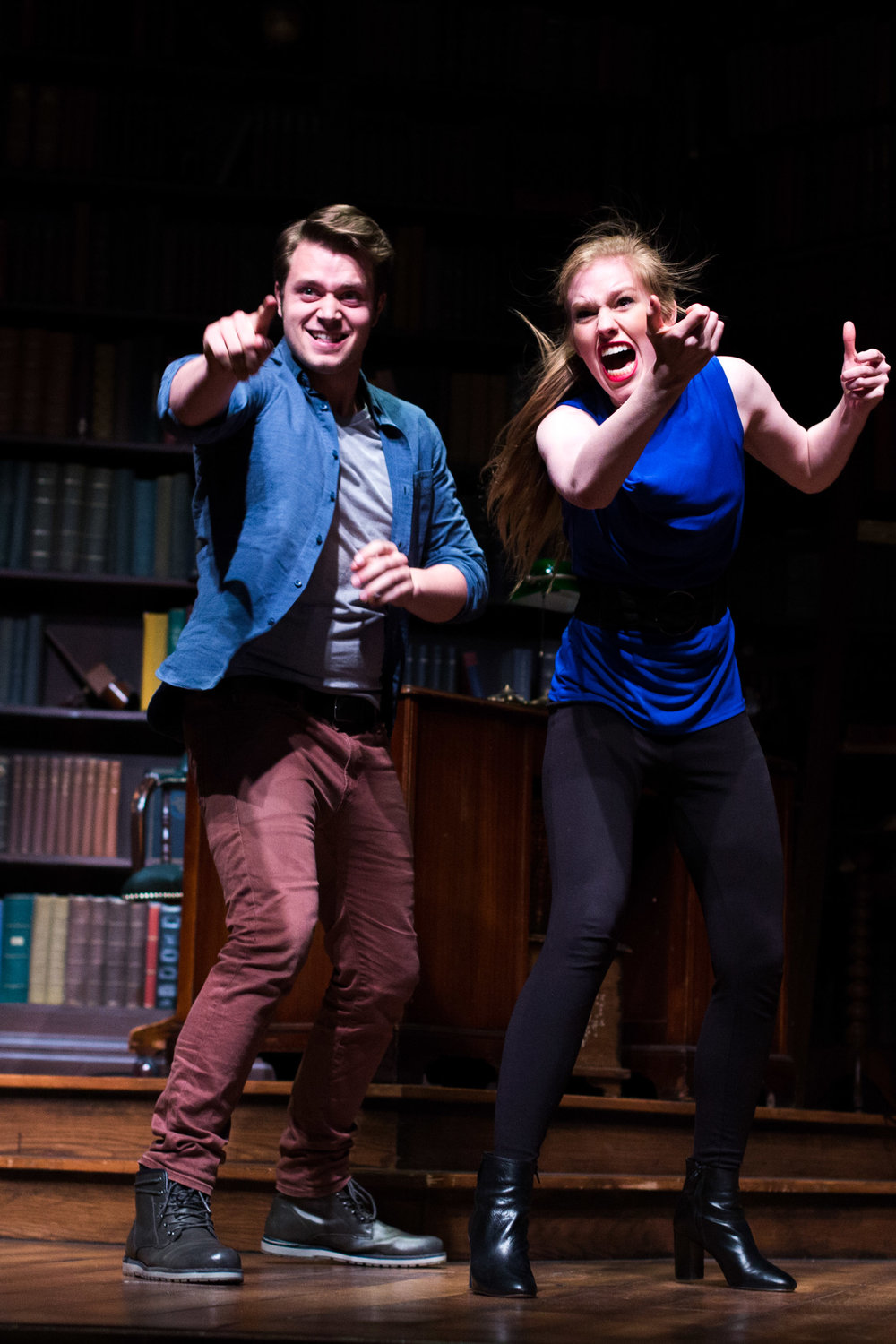 """Hello, New York! - In addition to NYC Showcases, my 2016 Class of University of WI- Stevens Point BFA's put on a cabaret-style evening performance on May 19th in New York City at the Davenport Theatre. We were able to present our Showcase our to friends, alumni, and more industry professionals. Click """"Read More"""" to see some amazing photos of the event taken by the talented Cole Witter!"""
