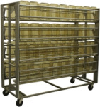 Cage Wash Rack w/ Open Design