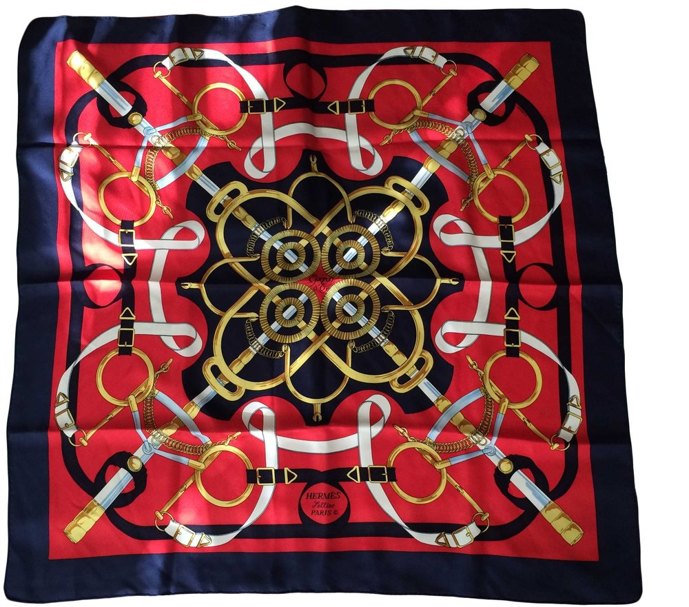 Hermes silk scarf. SOLD OUT.