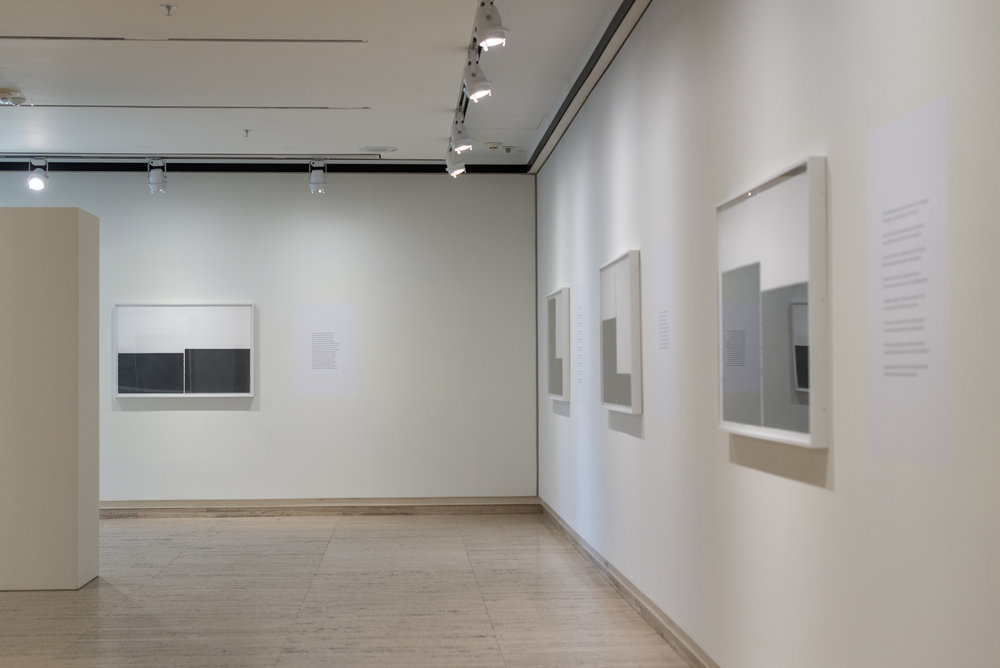 The Unfolding Center collaboration between Poet, Arthur Sze & Visual Artist, Susan York.  11 graphite pencil on paper Diptychs by York measure points of tension Sze's polyvocal poem. 2011-2013
