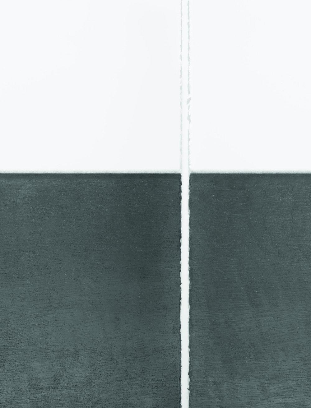"Unfolding Center no.9  (detail view), 2011-2013  30"" x 22"", graphite pencil on paper"