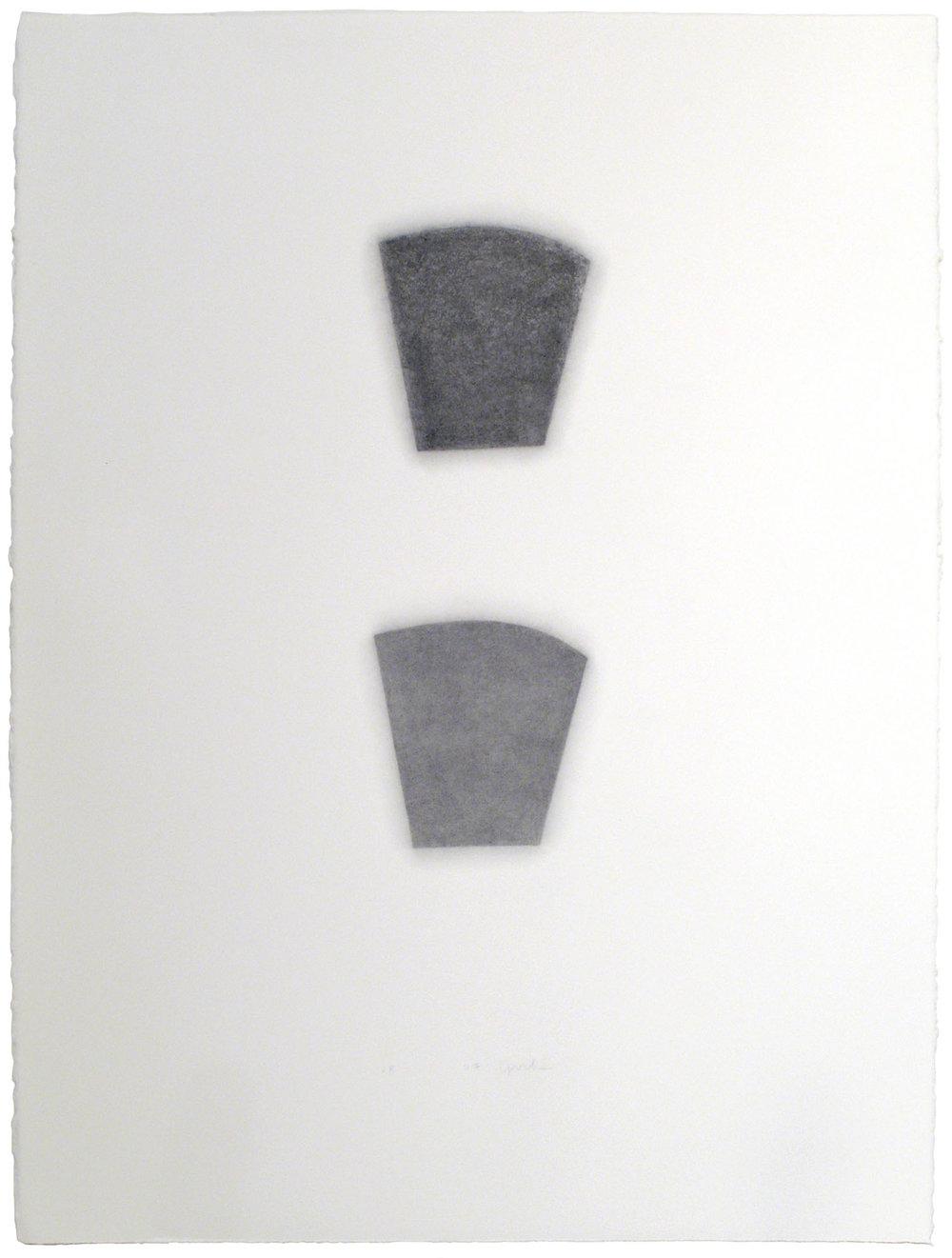 """28.1.07 , 2007  30"""" x 22"""", graphite pencil on paper"""