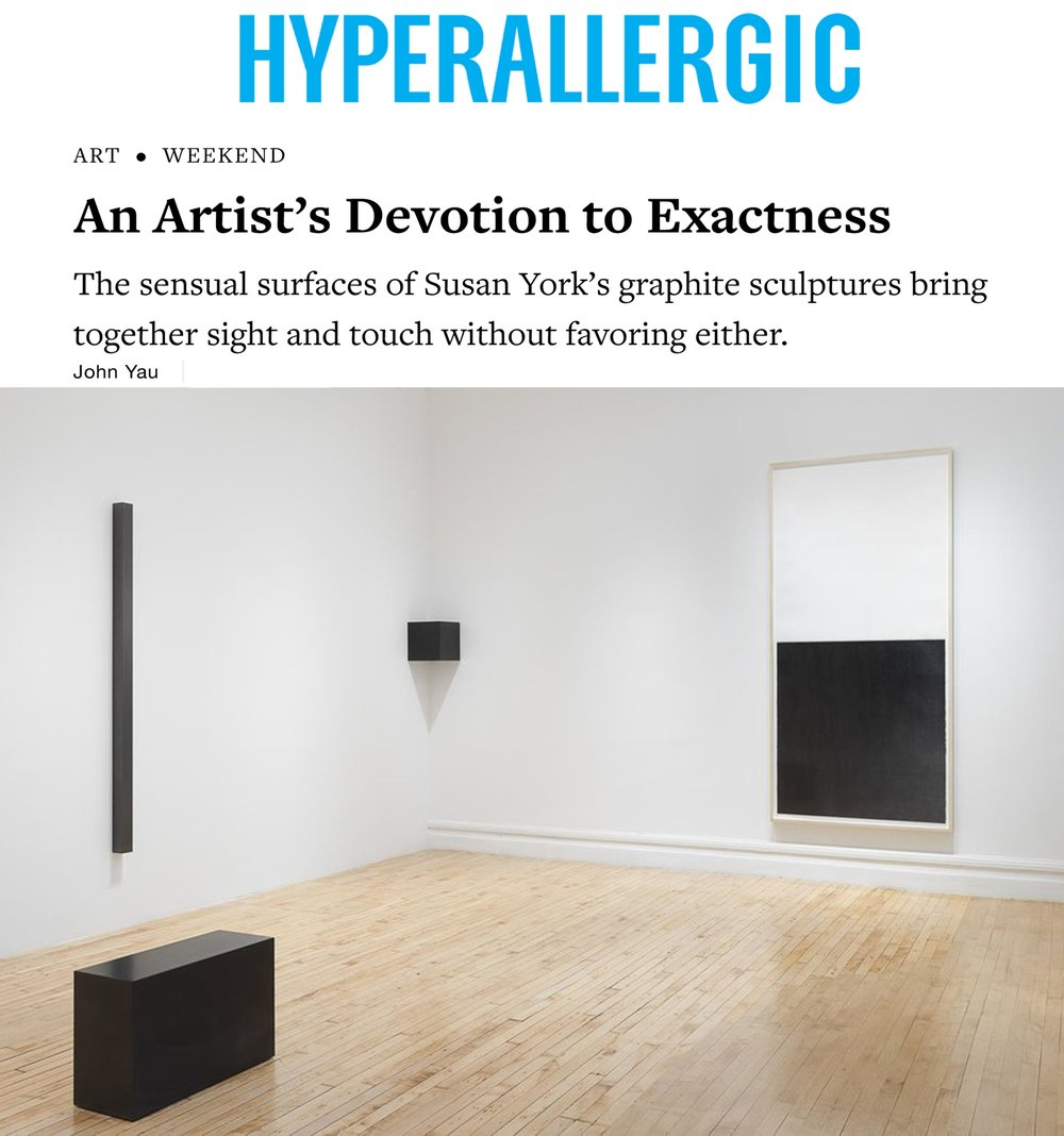 Hyperallergic   An Artist's Devotion to Exactness   By John Yau January 20, 2018