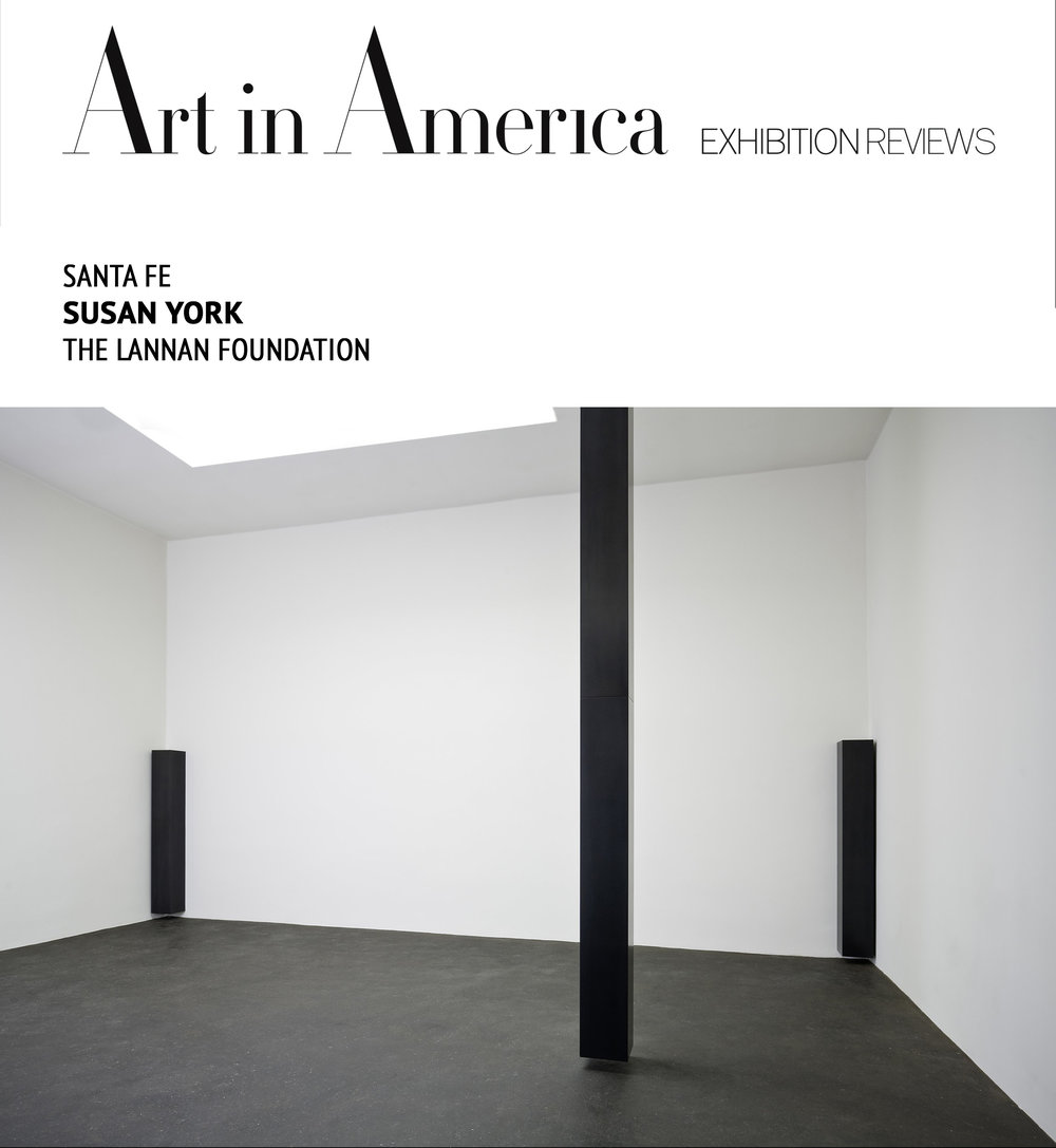Art in America   Susan York , The  Lannan Foundation   By Sarah King December, 8, 2008