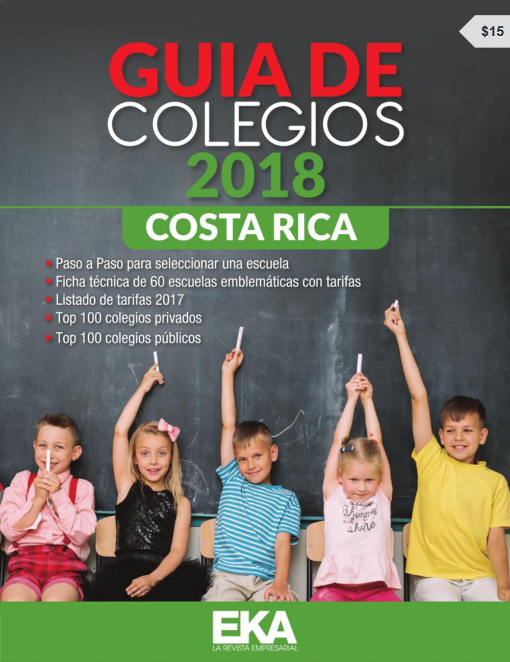 Guía de Colegios 2018 Costa Rica