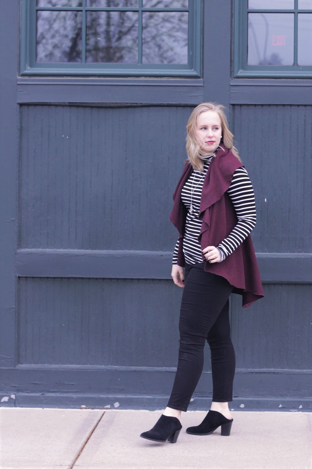 Hope Chest Fashion | Capelette Review | Work & What She Wore