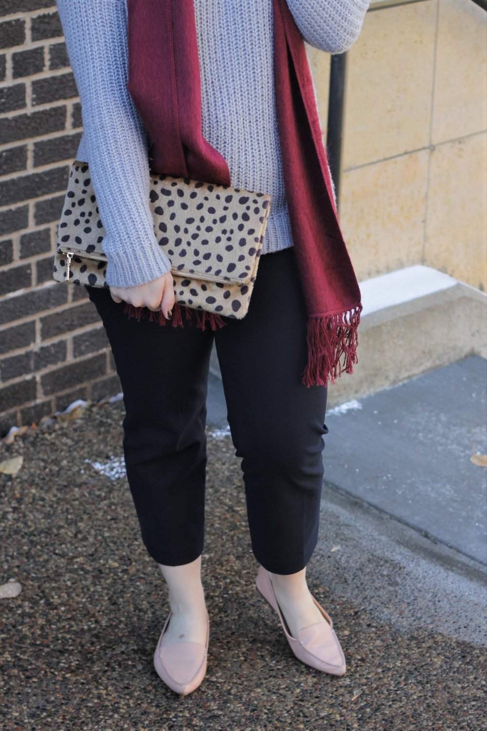Layers, Layers, Layers! Cozy Business Casual | Work & What She Wore