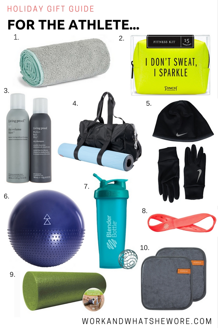 Holiday Gift Guides | For the Athlete | Work & What I Wore