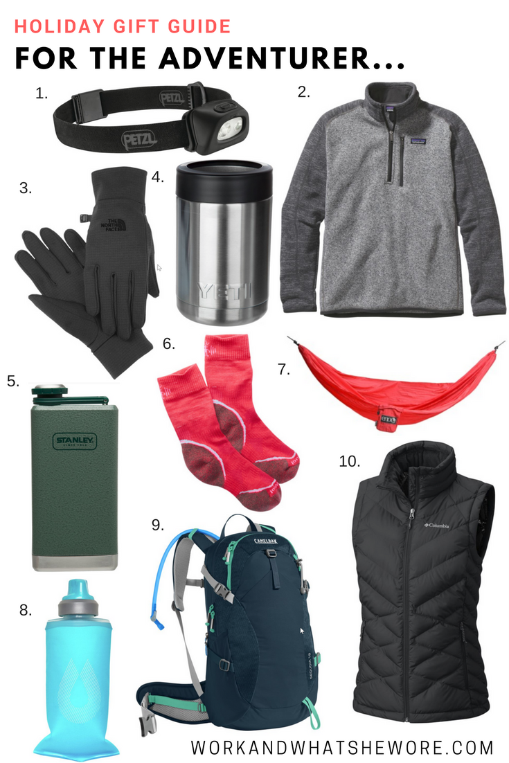 Holiday Gift Guides | For the Adventurer & the Foodie | Work & What She Wore