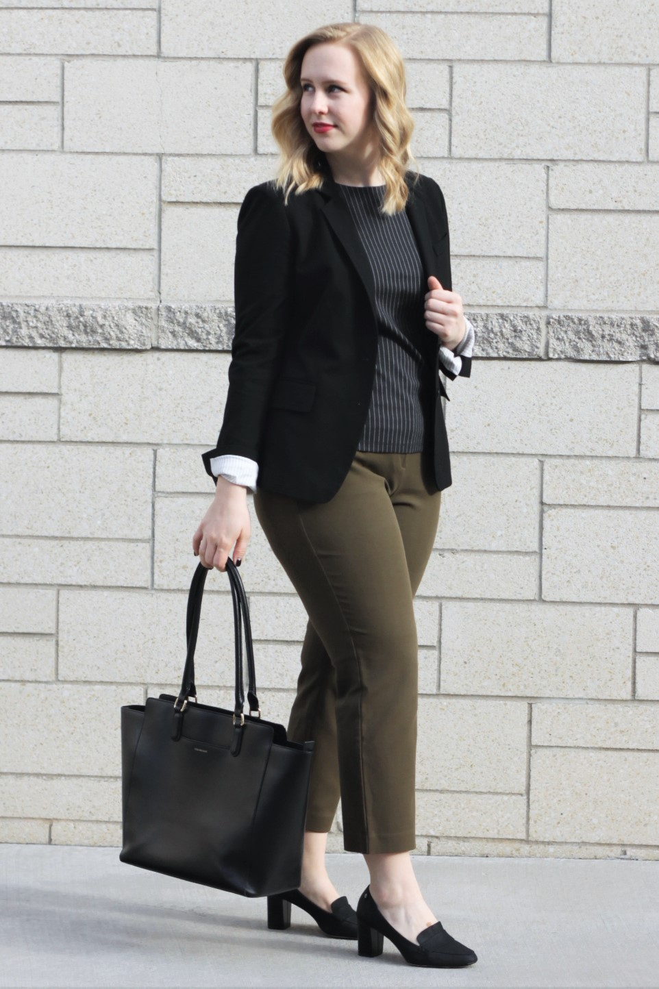 The Power Suit: Updated | Work & What She Wore
