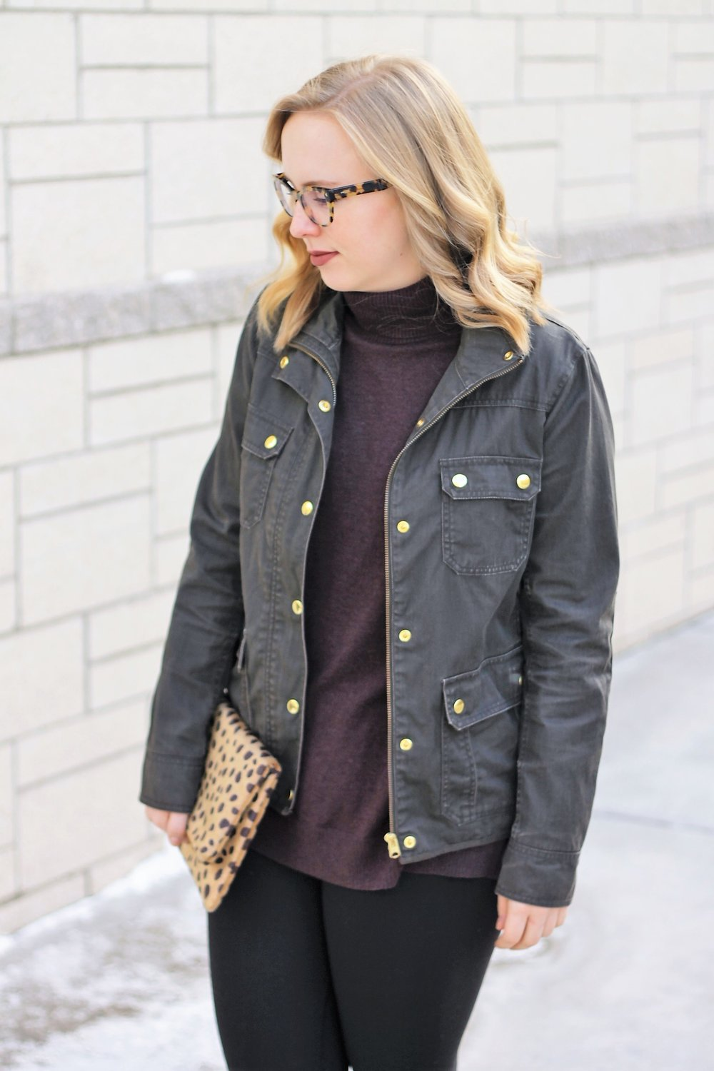 Rain Boots & Field Jacket | Work & What She Wore
