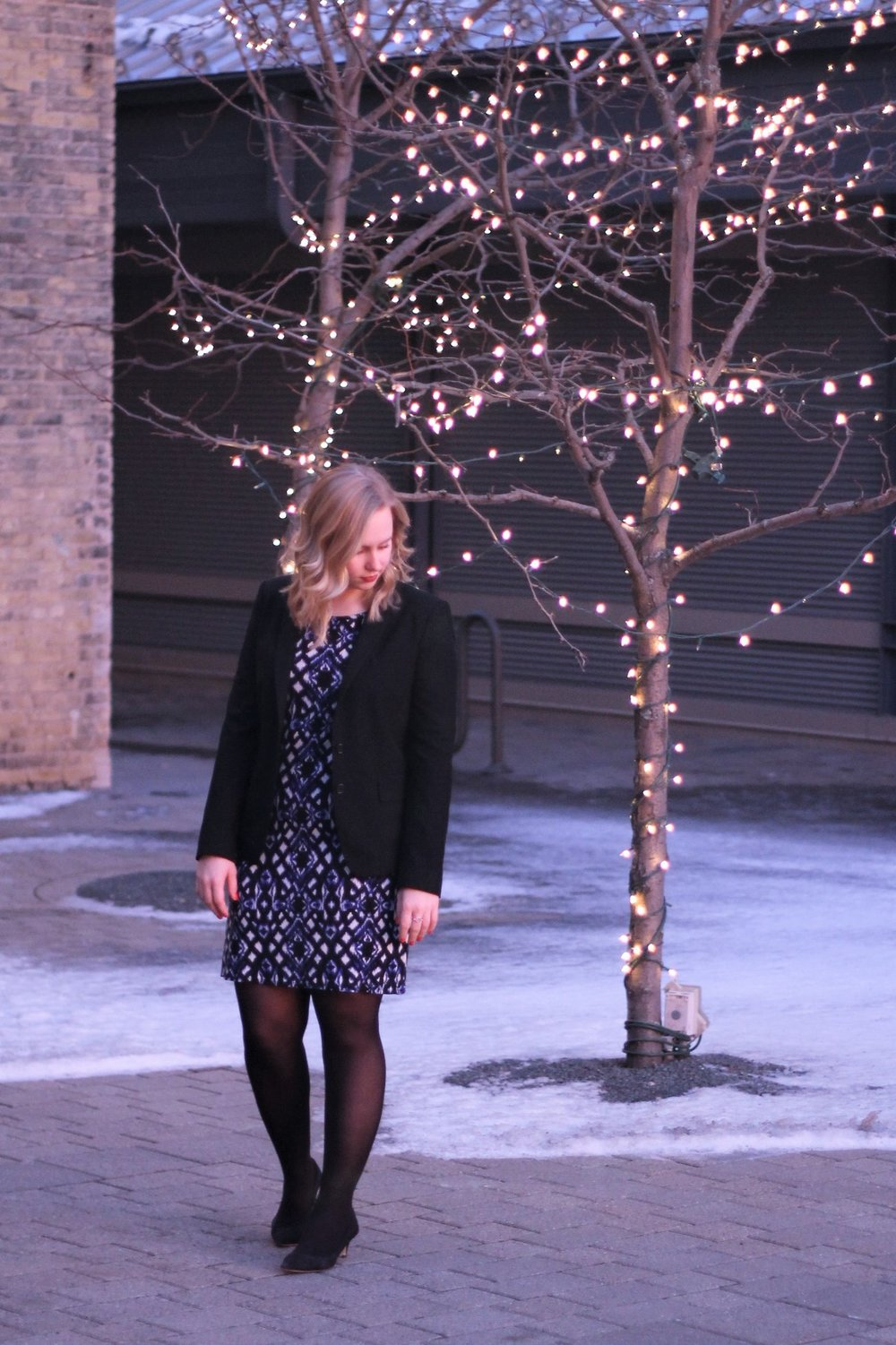 Back to Work | Business Formal to Kick Off the New Year | Work & What She Wore