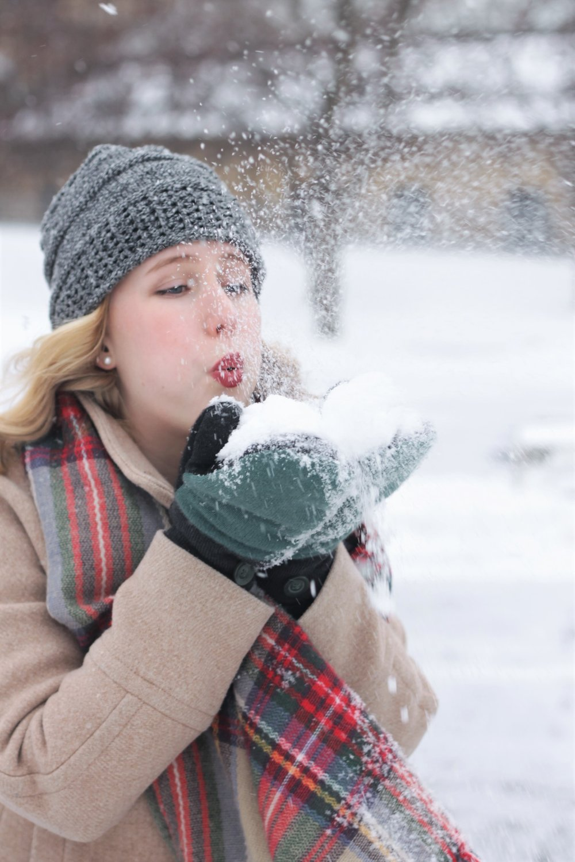 Winter Wonderland | Keeping Warm through Minnesota's Winters | Work & What She Wore