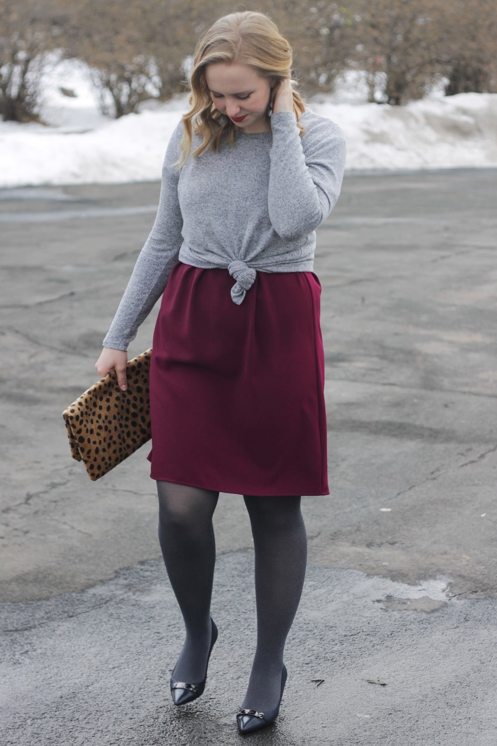 Romantic Looks   Valentine's Day on a Budget   Work & What She Wore
