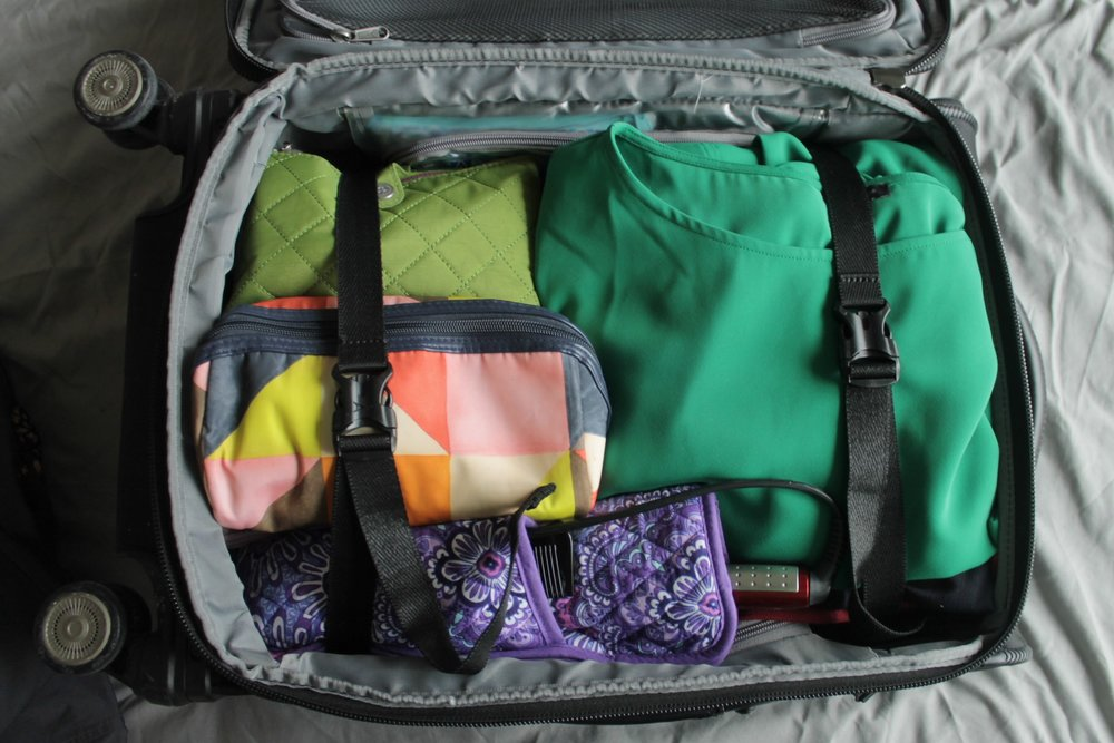 How to Pack for a Business Trip | Work & What She Wore